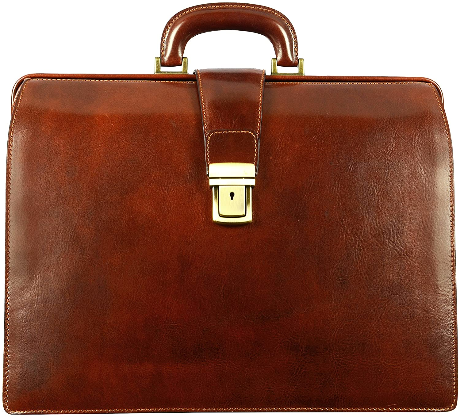 The Attorney laptop leather bag