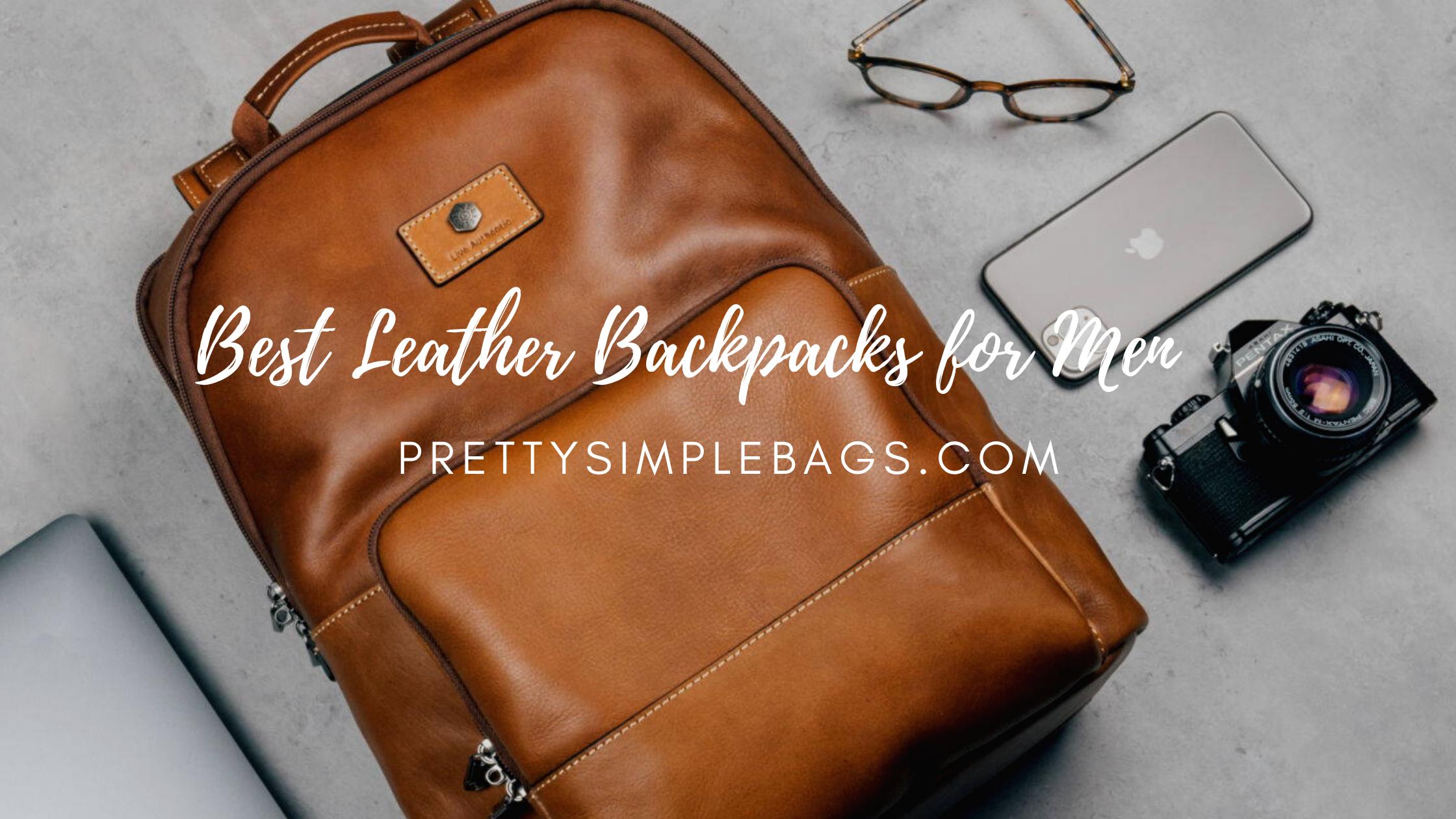best leather backpacks for men