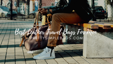 Six Best Leather Travel Bags for Men 2021