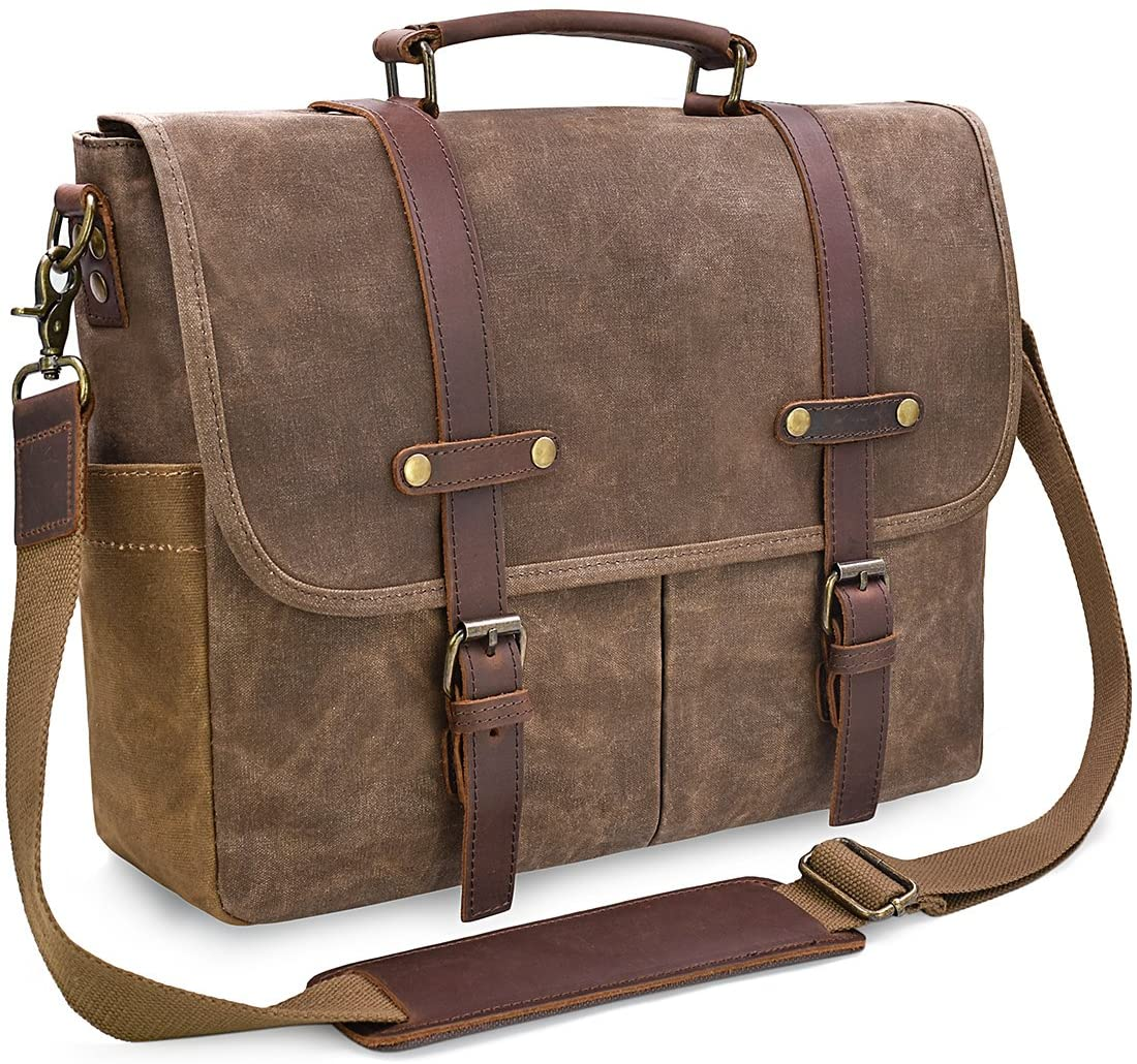 briefcase leather messenger bags