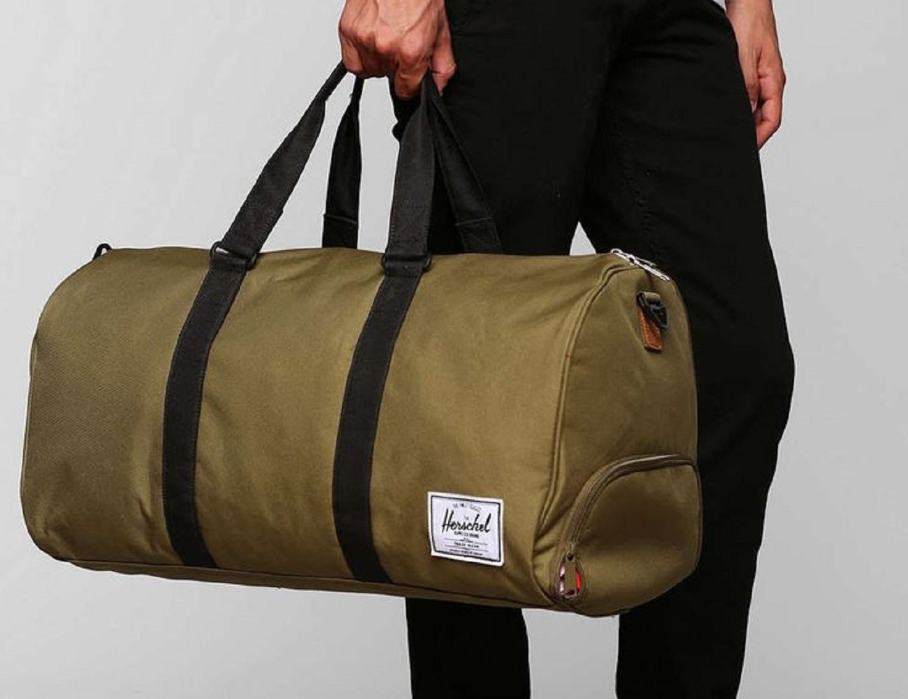 herschel supply co. sutton nailhead duffel bag