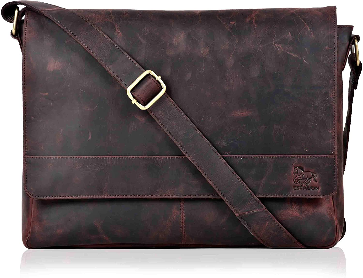 laptop messenger leather bags