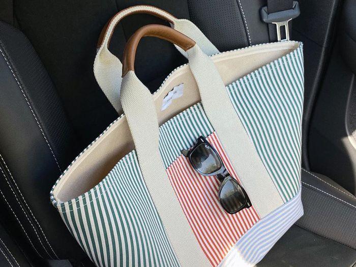 rue de verneuil's tool xl canvas tote bag