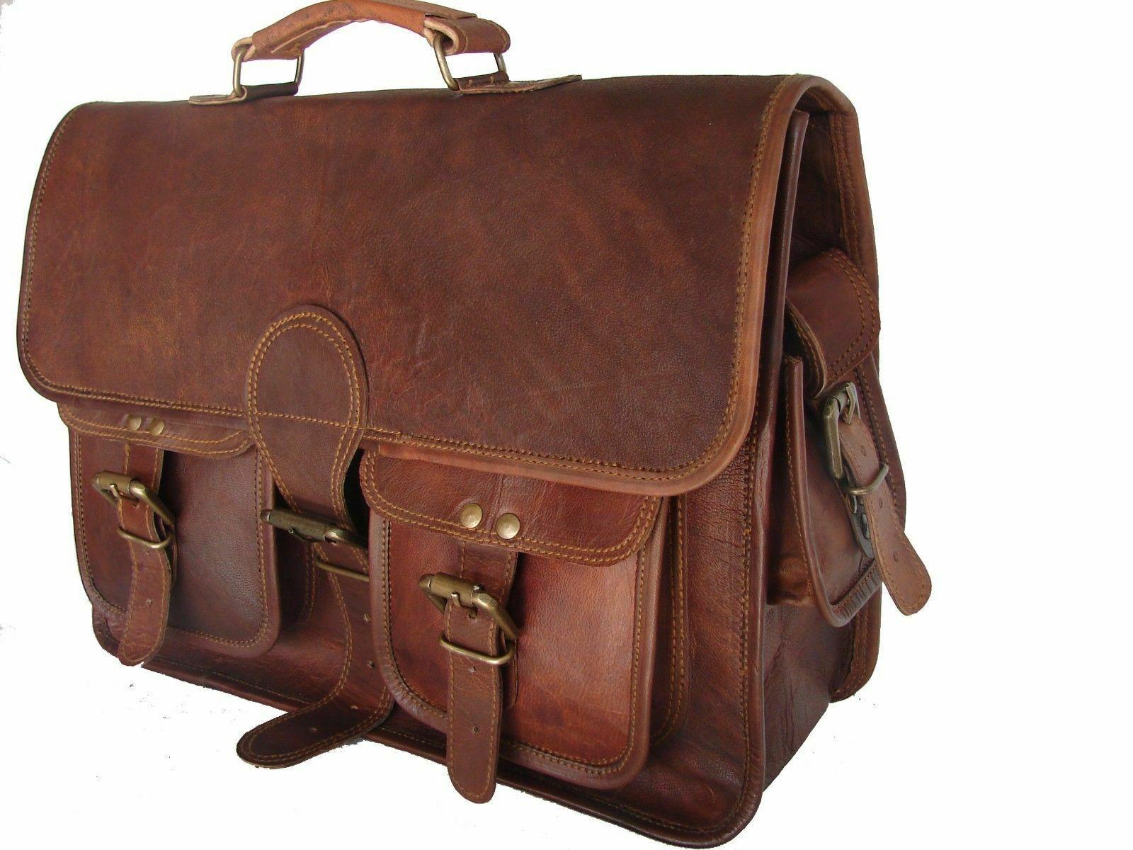 satchel messenger leather bag