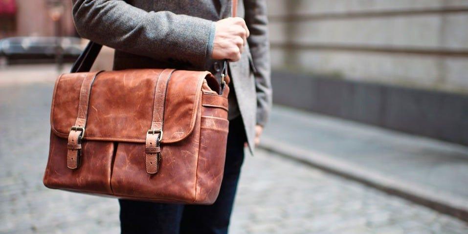 the executive duffel bag for men