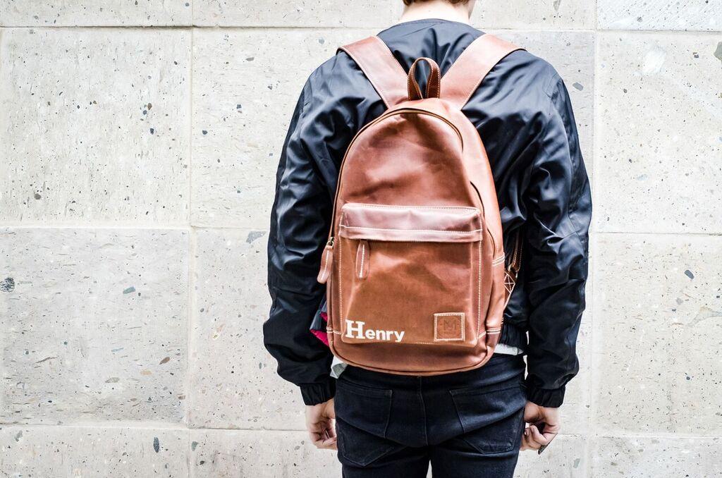 the mahi leather laptop bag