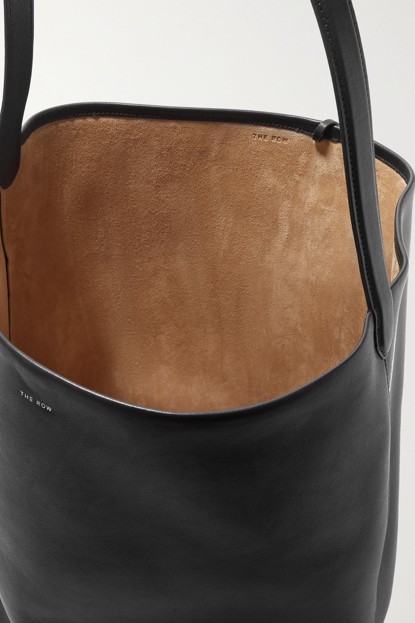 the park leather tote by row xl