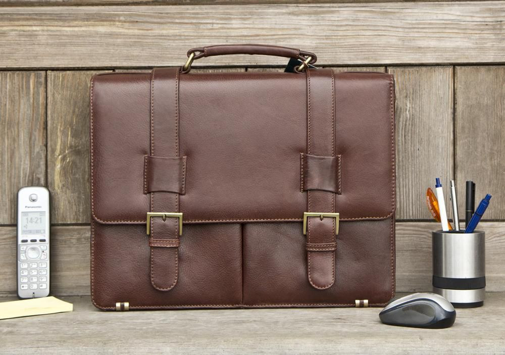the prime leather laptop bag