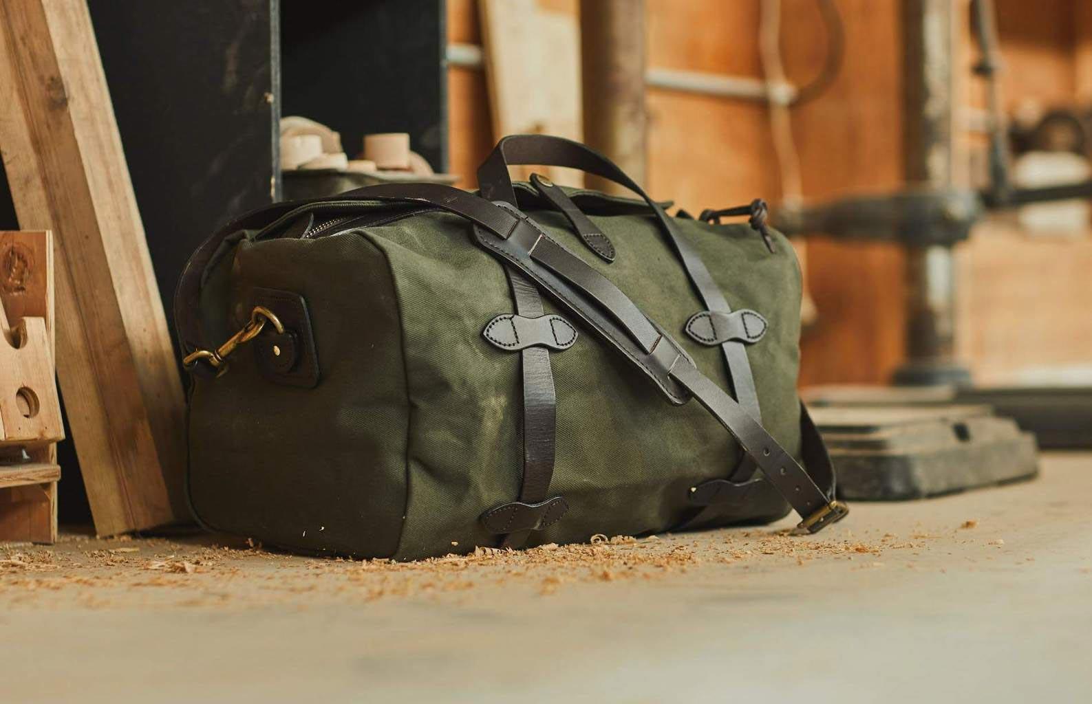 the rough duffel bag for men
