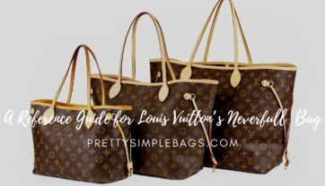 A Reference Guide for Louis Vuitton's Neverfull PM/MM/GM Bag